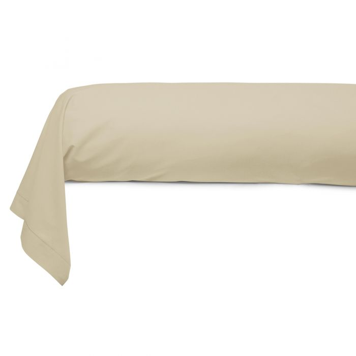 Cotton Bolster Case ivory | Bed linen | Tradition des Vosges