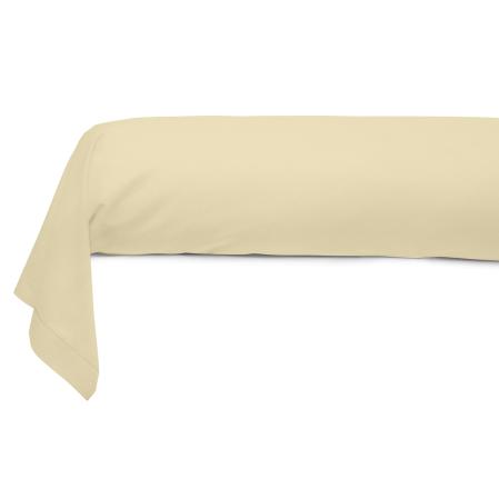 Taie Traversin Uni 100% Coton Naturel | Linge de lit | Tradition des Vosges