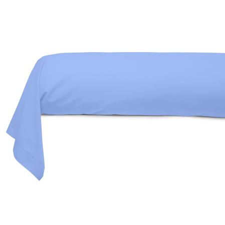 Taie Traversin Uni 100% Coton sky | Bed linen | Tradition des Vosges