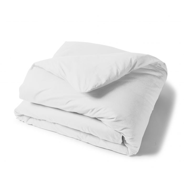 Housse Couette Uni 100% Coton Blanche | Linge de lit | Tradition des Vosges