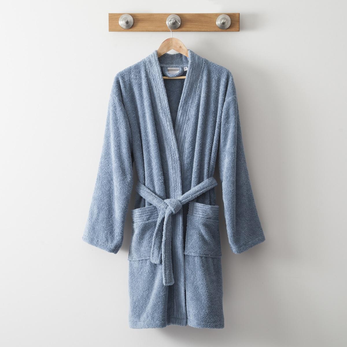 Cotton Kimono 420 Gr blue | Bed linen | Tradition des Vosges