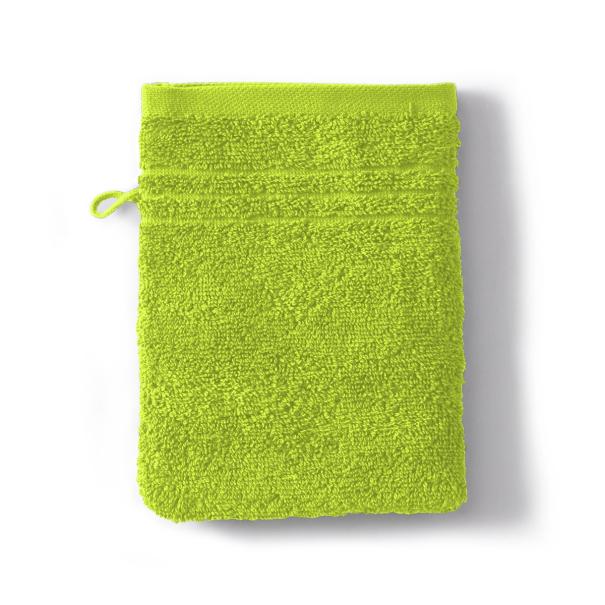 Washcloth Sdb Cotton 550gr Cotton Sponge 550g/m2 green | Bed linen | Tradition des Vosges