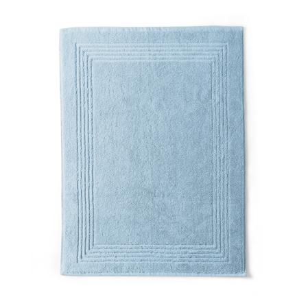 Bath Mat Cotton 550gr Cotton Sponge 800gr / m2 sky | Bed linen | Tradition des Vosges