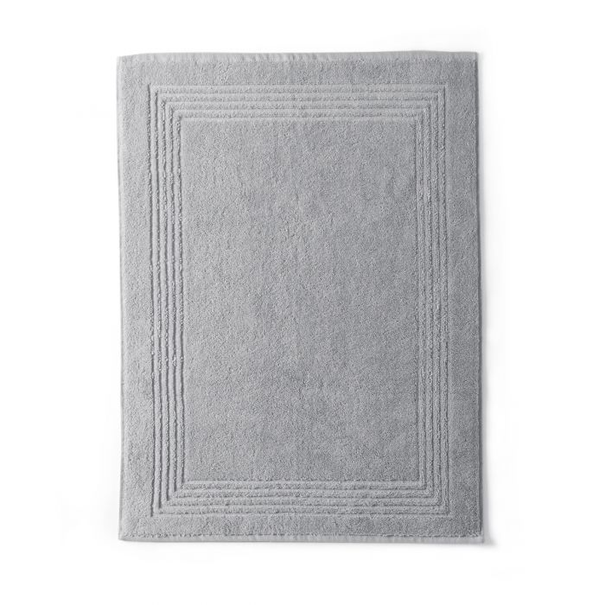 Tapis Bain Sdb Coton 550gr Eponge Coton 800gr/m2 green | Bed linen | Tradition des Vosges