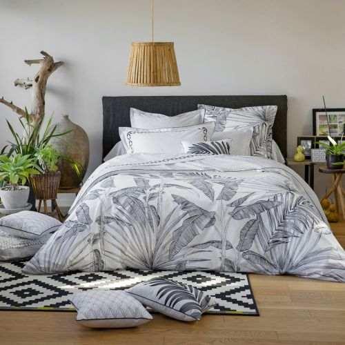 Ensemble de linge de lit percale de coton Tropical