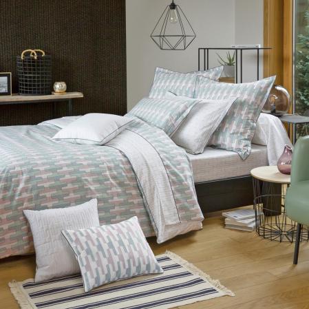 Linge de lit en percale de coton Origami | Linge de lit | Tradition des Vosges