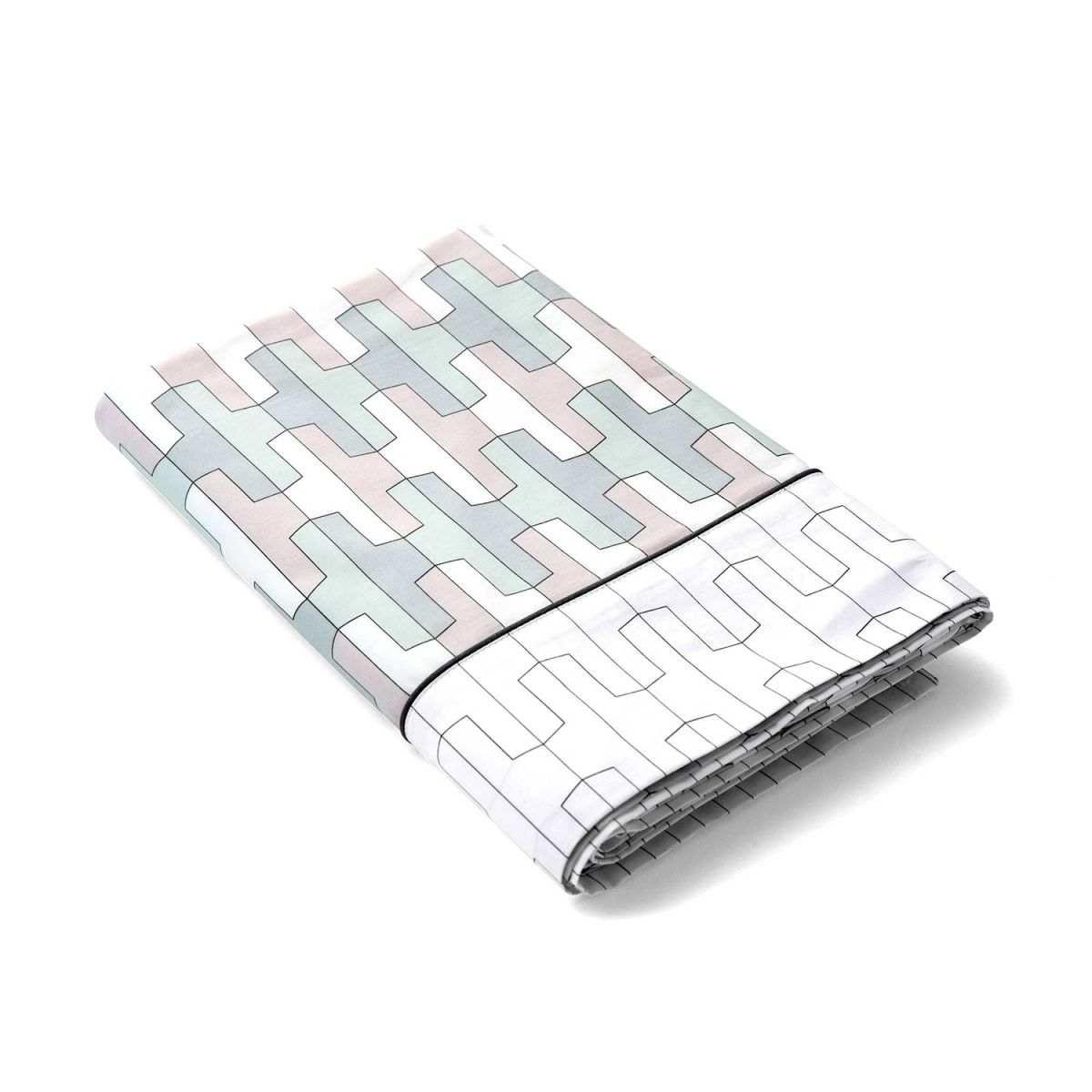 parure origami soldes jusqu 39 55 linge de lit de qualit tradition des vosges. Black Bedroom Furniture Sets. Home Design Ideas