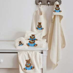 Serviette Toilette Ourson Boy