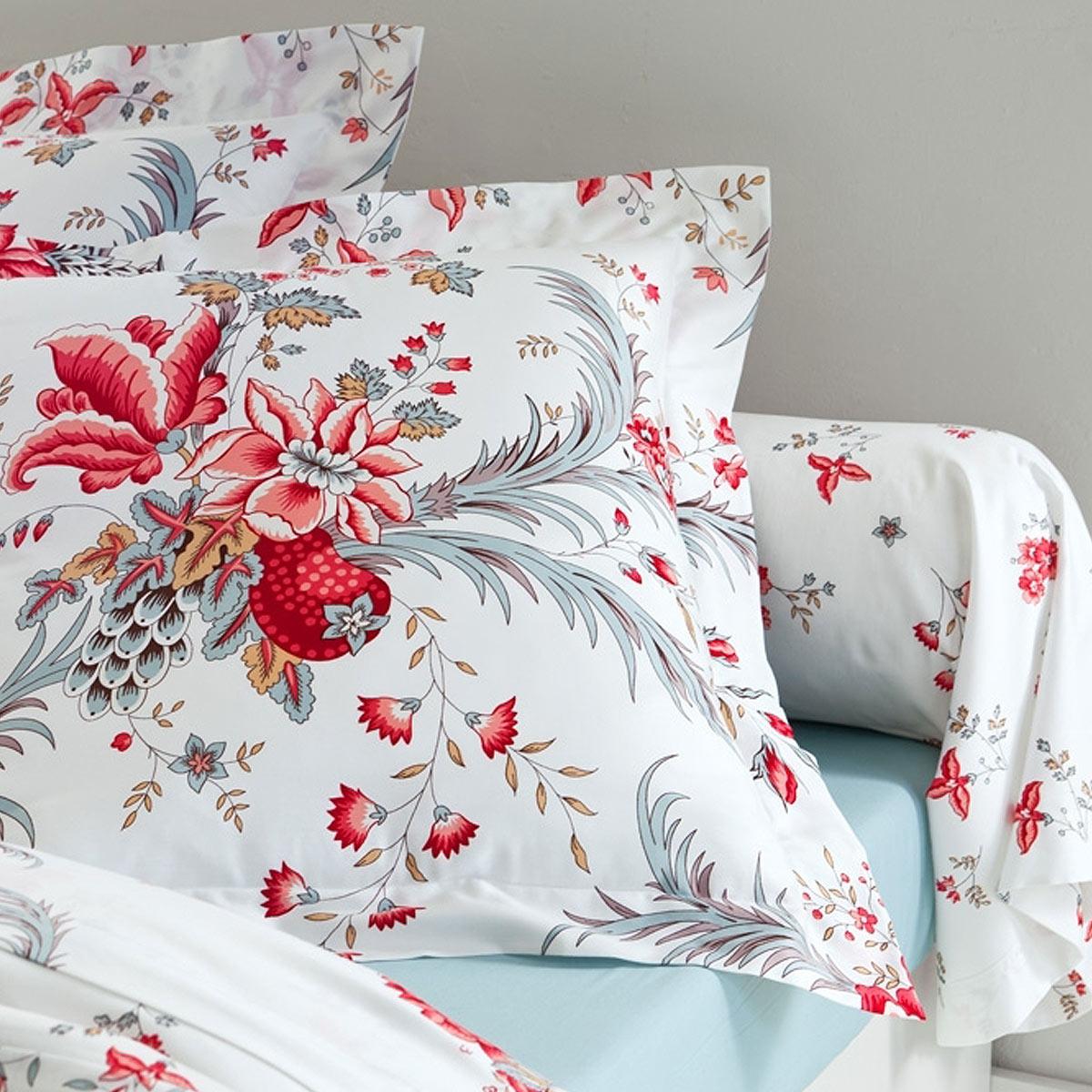 parure housse de couette edwige linge de maison de qualit tradition des vosges. Black Bedroom Furniture Sets. Home Design Ideas