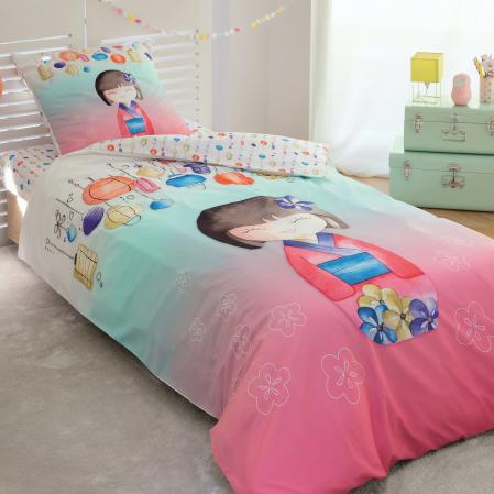 Akiko Duvet Cover | Bed linen | Tradition des Vosges