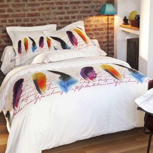 Housse de couette percale Plumetis | Linge de lit | Tradition des Vosges