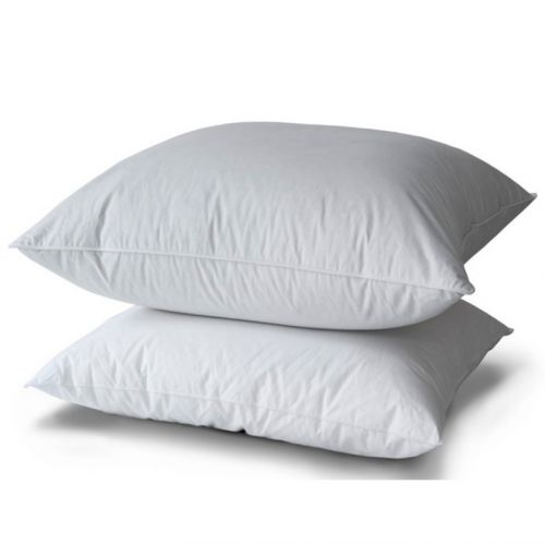 Pillow 10% Duvet Duck Ppb Piping White | Bed linen | Tradition des Vosges