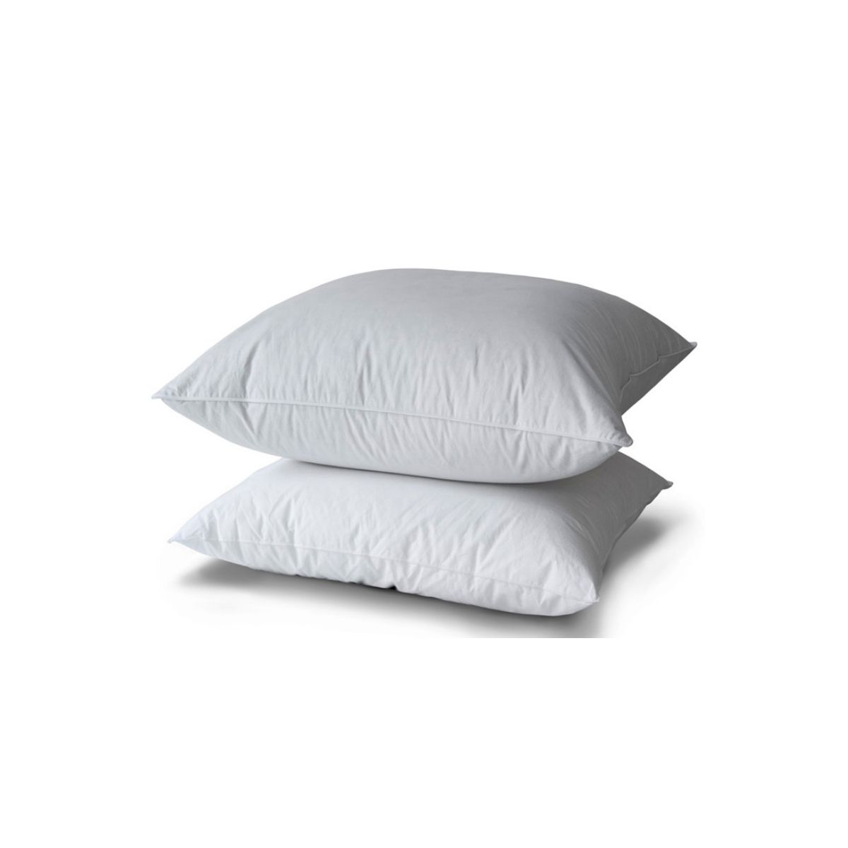 Pillow 10% Duvet Duck Ppb Piping White   Bed linen   Tradition des Vosges