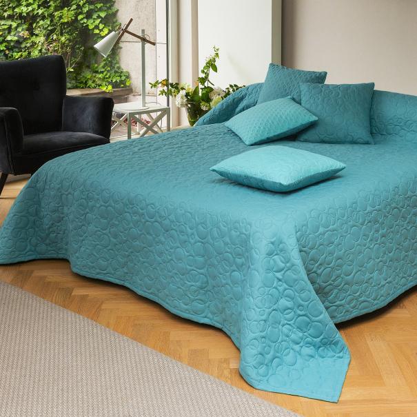 Couvre-lit Acapulco Celadon   Linge de lit   Tradition des Vosges