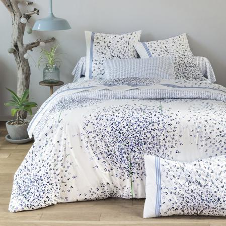 Allium   Linge de lit   Percale de coton   Tradition des Vosges