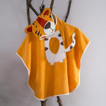 Poncho pour enfant 100% coton Madagascar