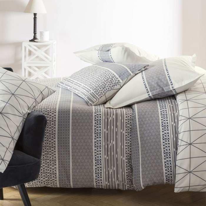 parure equinoxe linge de lit de qualit tradition des. Black Bedroom Furniture Sets. Home Design Ideas