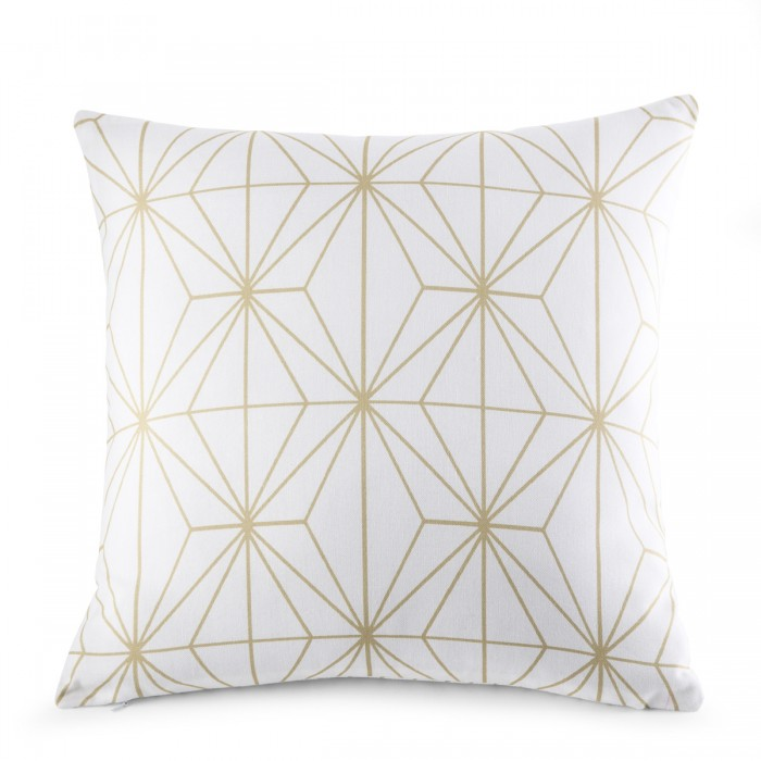 Cushion Cover Ethos White | Linge de lit | Tradition des Vosges