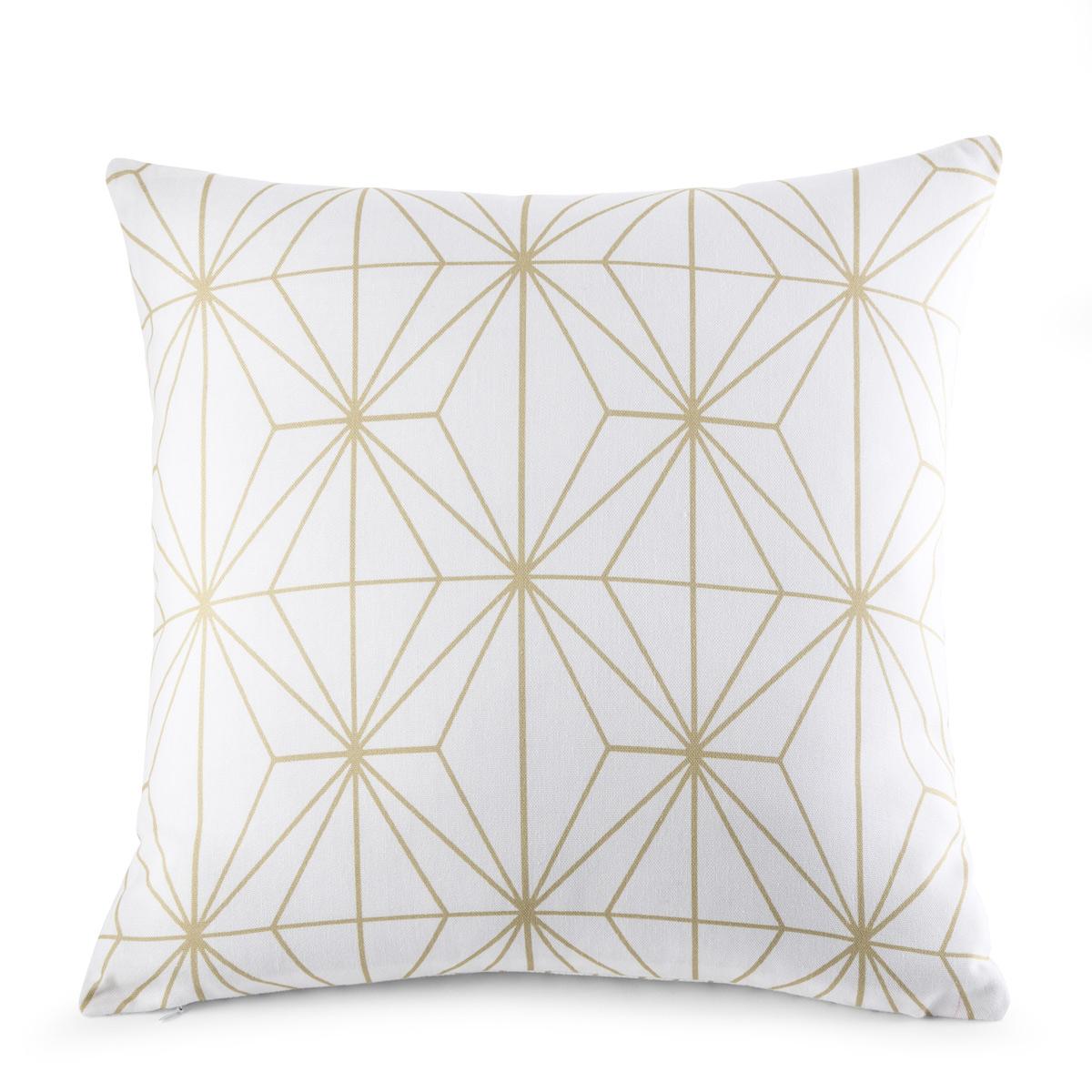 Cushion Cover Ethos White | Linge de lit | Tradition des Vosges