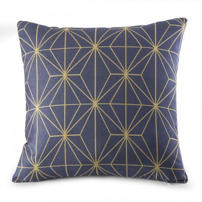 Cushion Cover Ethos Gris | Bed linen | Tradition des Vosges