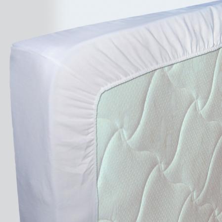 Drap-housse Uni 100% Coton