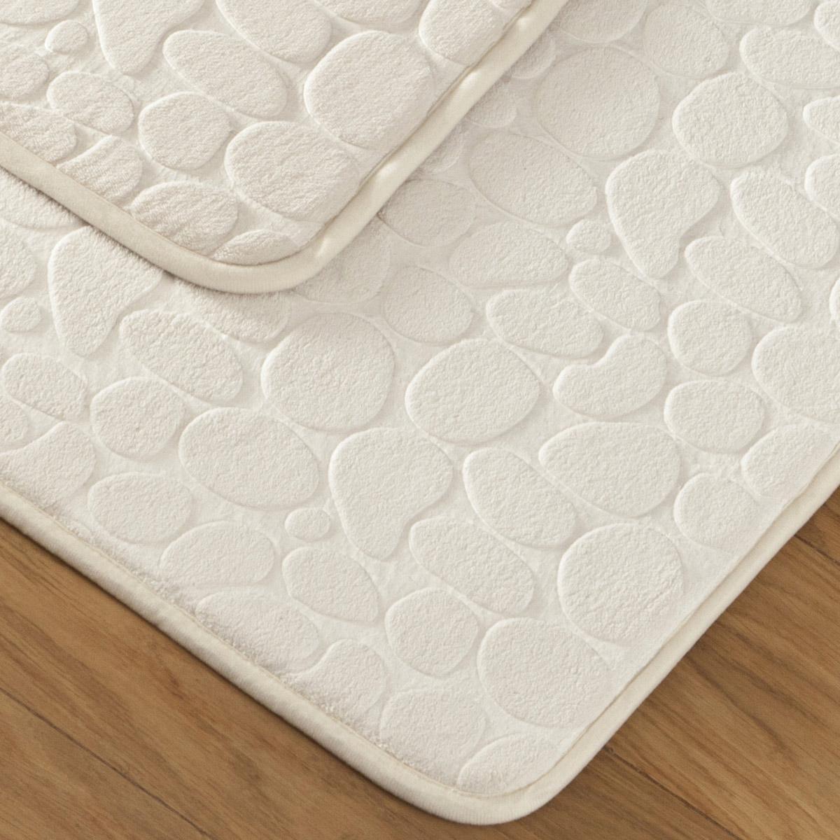 tapis bain galet beige tradition des vosges. Black Bedroom Furniture Sets. Home Design Ideas