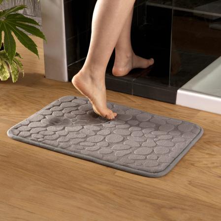 Bathmat Galet Grey | Linge de lit | Tradition des Vosges