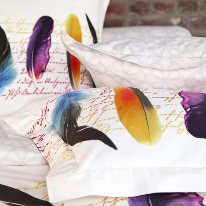 Pillow case Plumetis