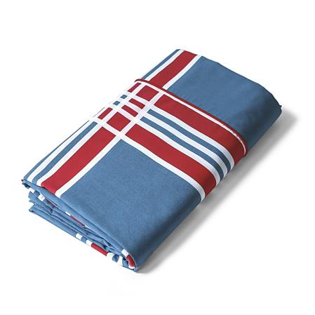 Drap plat Ouessant | Linge de lit percale de coton | Tradition des Vosges