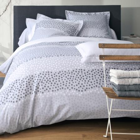 Parure Housse de couette Comète | Linge de lit en coton | Tradition des Vosges
