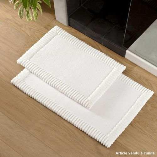 Bath mat Chenille White