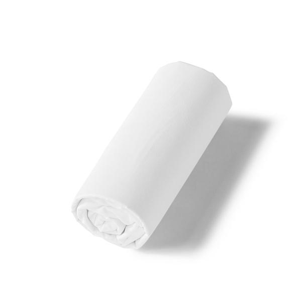 Drap-housse Renaissance blanc | Linge de lit satin de coton | Tradition des Vosges