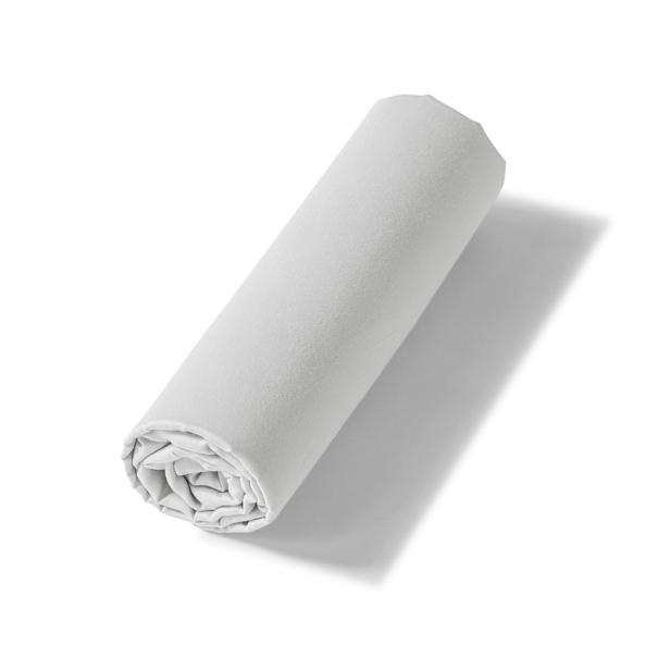 Drap-housse Renaissance gris | Linge de lit satin de coton | Tradition des Vosges