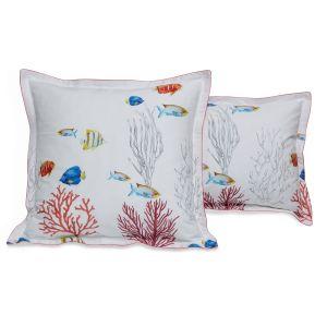 Corail pillowcase