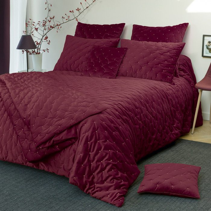 Velvet pillowcase Harmonie