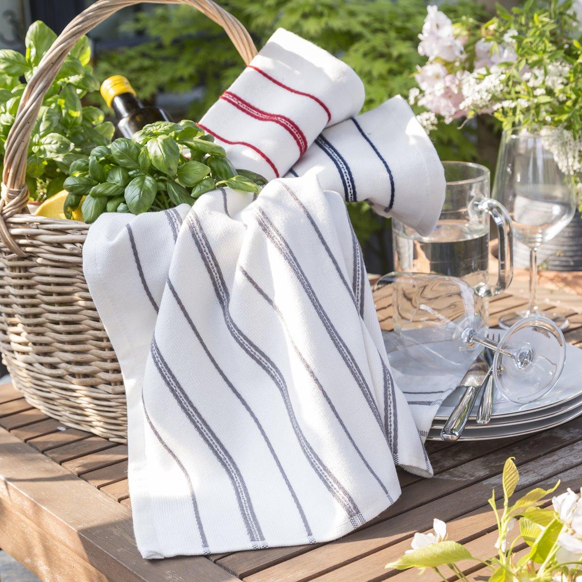 Torchon Stripped | Linge de cuisine | Tradition des Vosges