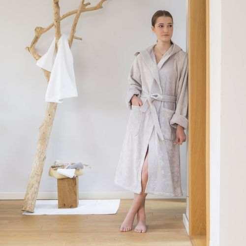 Hooded bathrobe Mila