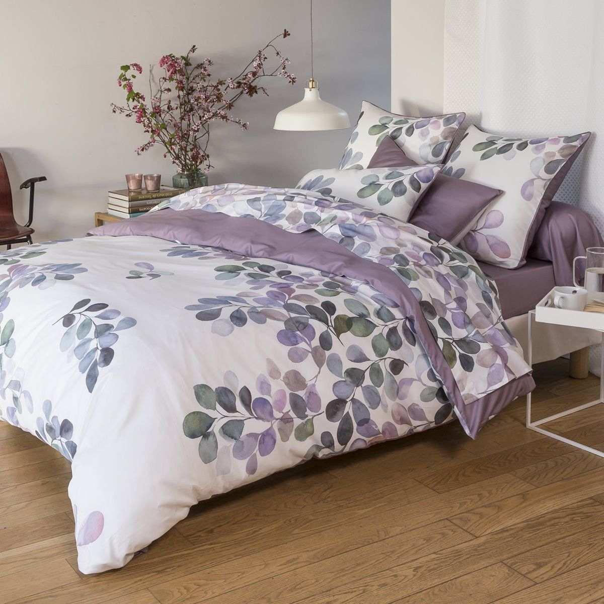 Bed set in satin de coton - Eclose