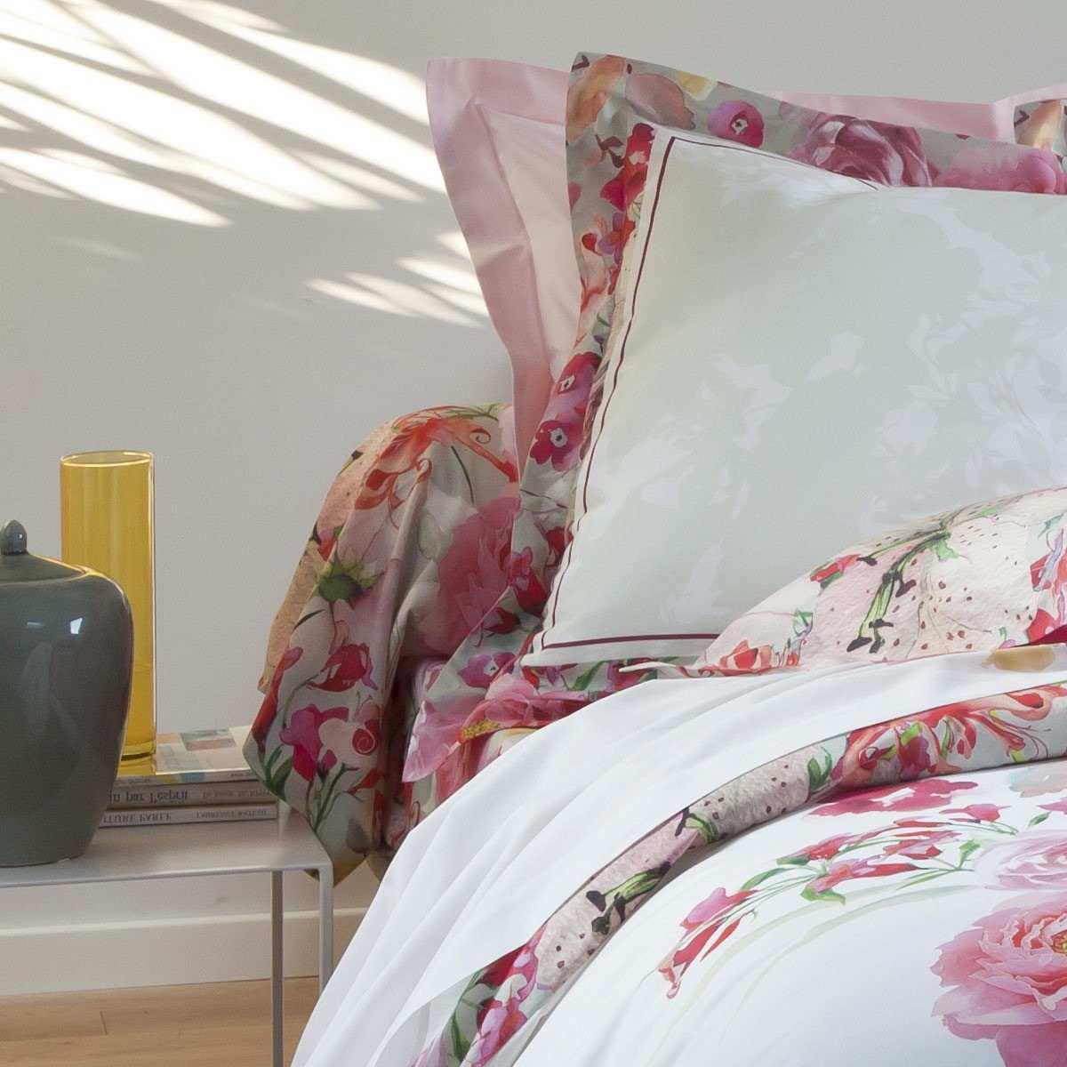 Drap housse juliette linge de lit de qualit tradition for Repassage drap housse