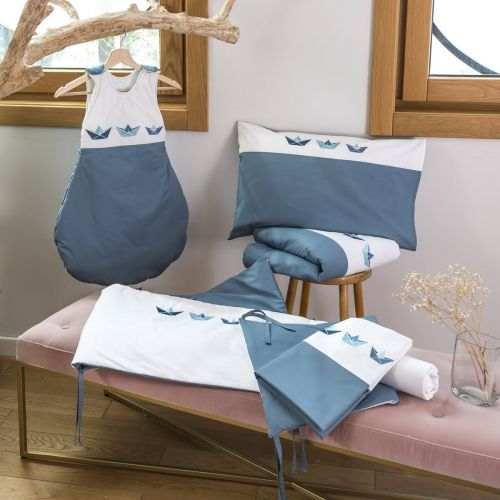 Linge de lit bébé percale de coton 80 fils - Malo