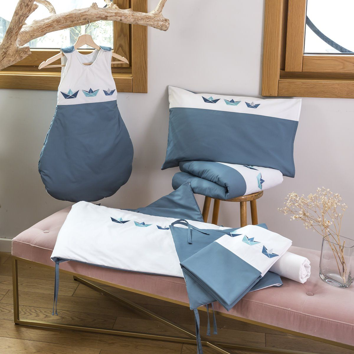 Malo baby bed linen