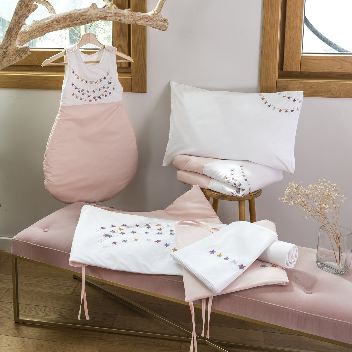 Baby bed linen - Estrella