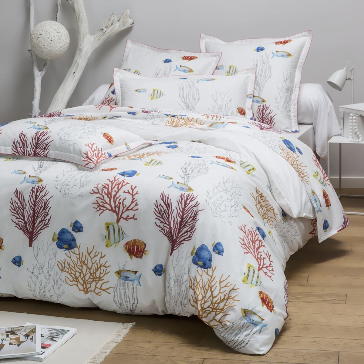 Housse Couette Corail