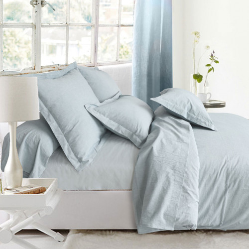 Fitted Sheet Washed Cotton
