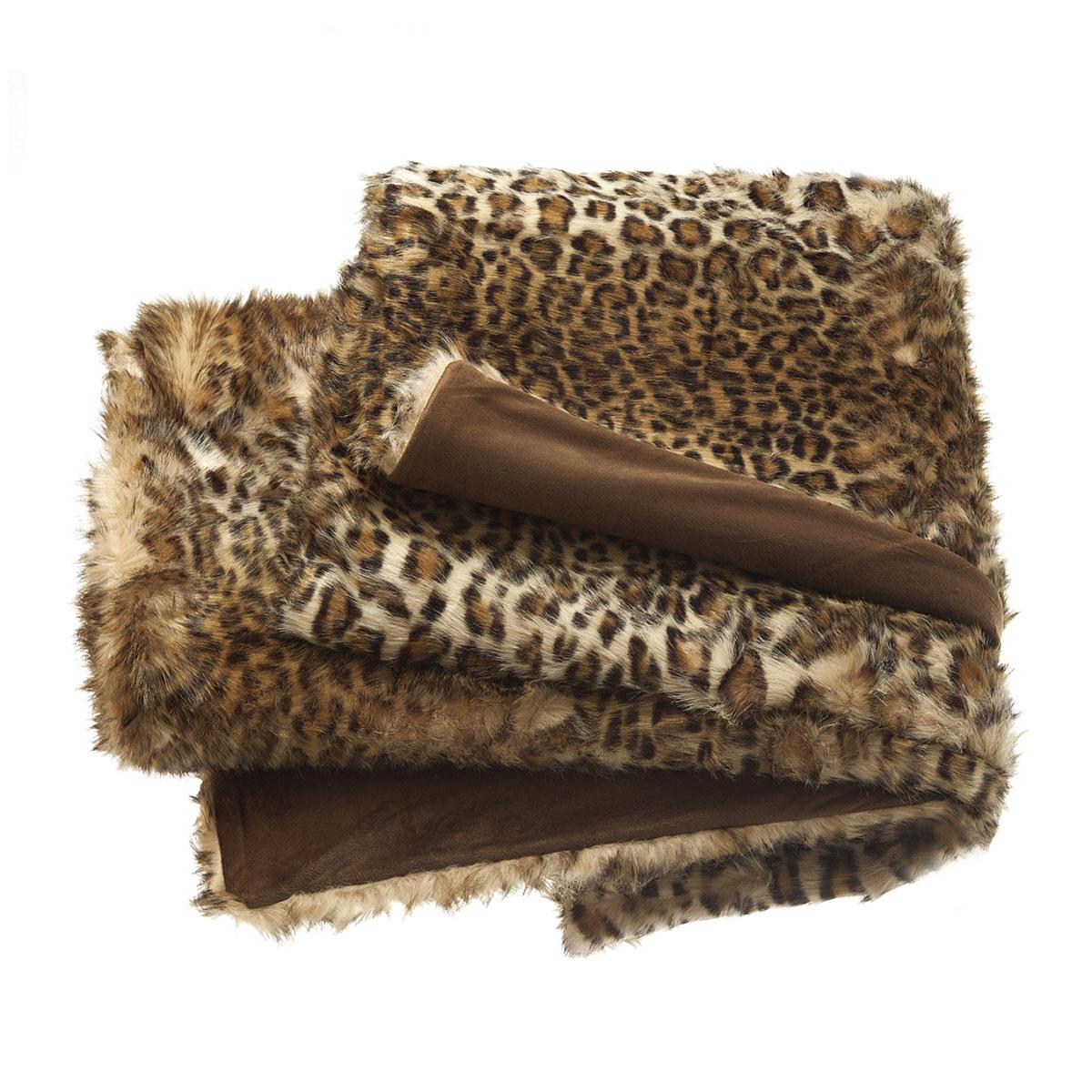 Plaid Leopard | Linge de déco | Tradition des Vosges
