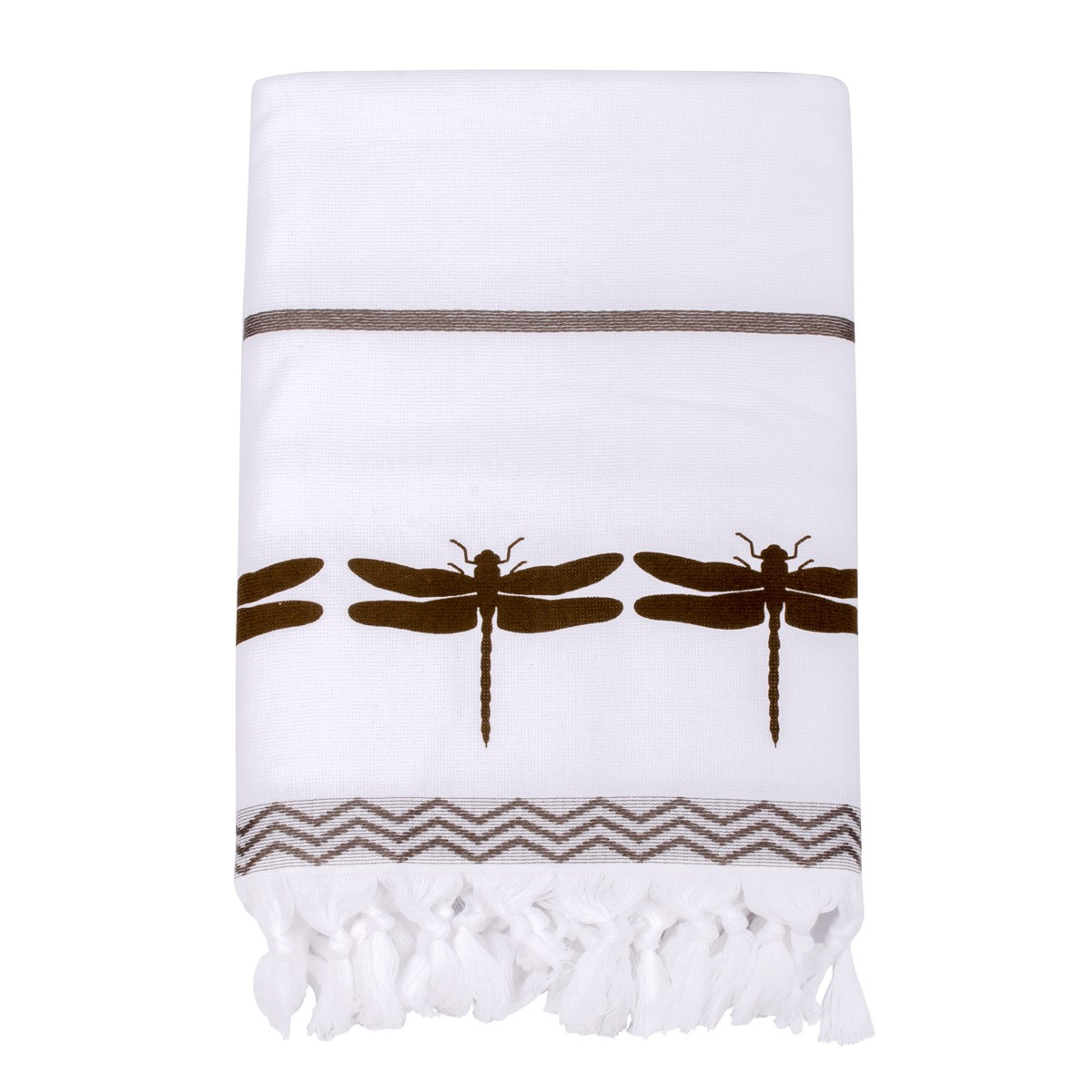 fouta libellule soldes jusqu 39 55 fouta de plage. Black Bedroom Furniture Sets. Home Design Ideas