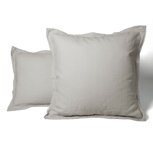 Pillowcase Washed Linen beige | Linge de lit | Tradition des Vosges
