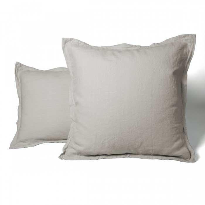 Pillowcase Washed Linen beige | Linge de lit | Tradition des Vosges