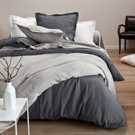 Parure en Lin Lavé | Bed linen | Tradition des Vosges