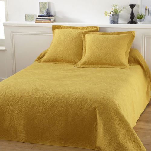 Bedspread Lulu Jaune | Linge de lit | Tradition des Vosges